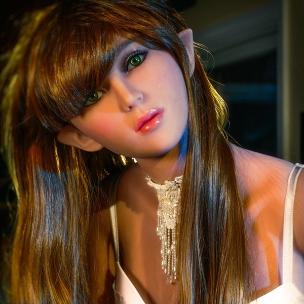 Lovely Young Naked Sex Doll Silica 155cm Elf Ears Sex Doll
