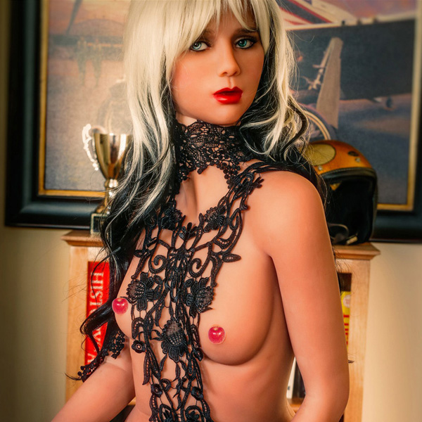 155cm st doll small flat breasts sex doll with skeleton