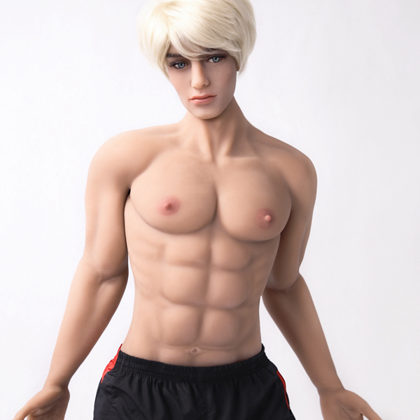 Hot new 180cm dolls real silicone strong muscular man big penis male for women gays
